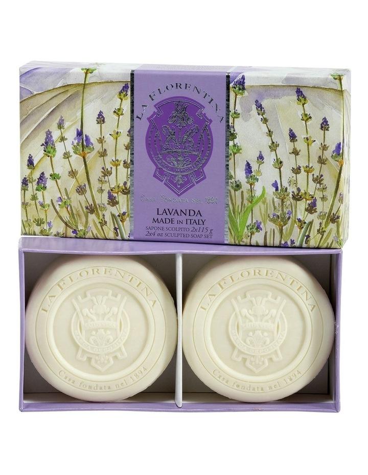 2 Bar Soaps Lavender image 1