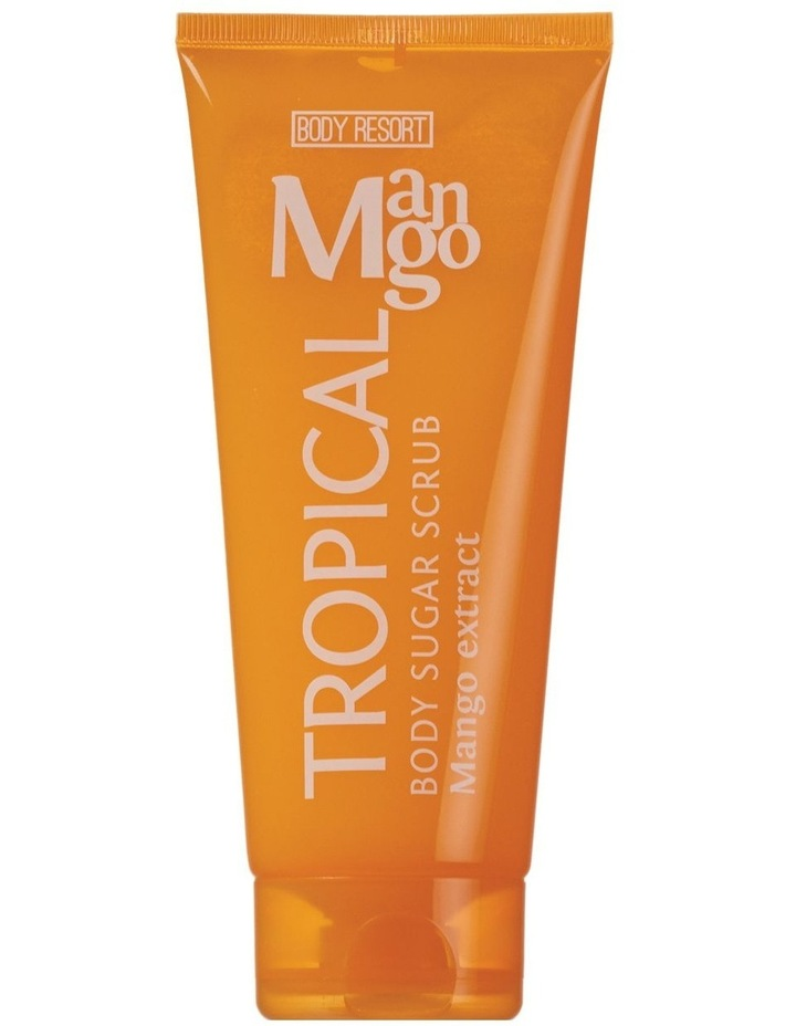 Body Resort Body Sugar Scrub Tropical Mango 250g image 1