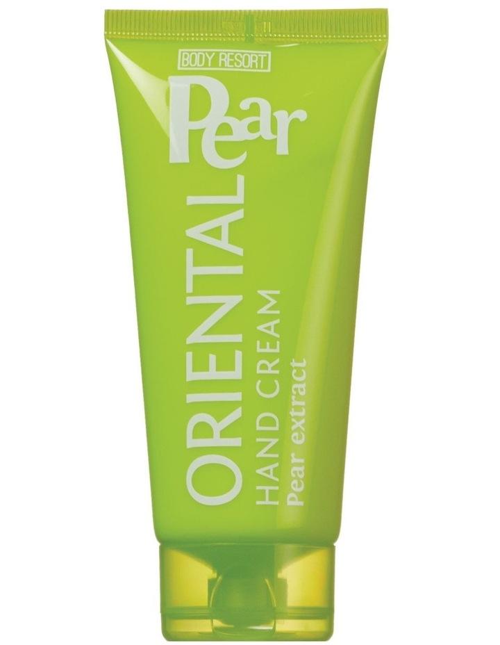 Body Resort Hand Cream Oriental Pear 100ml image 1