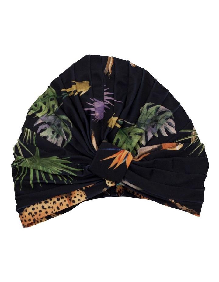 Amelie Shower Cap Dark Tropics image 1