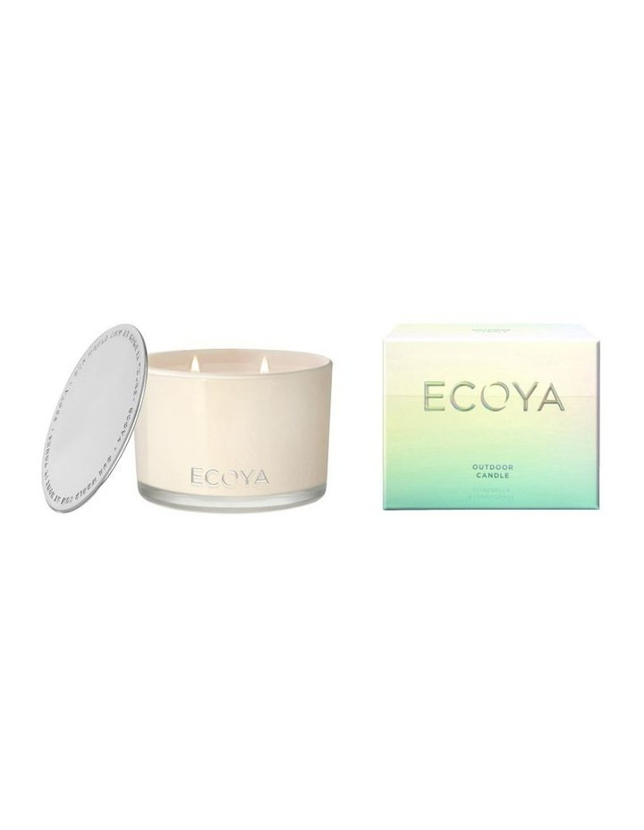 Citronella & Lemongrass Outdoor Candle image 1
