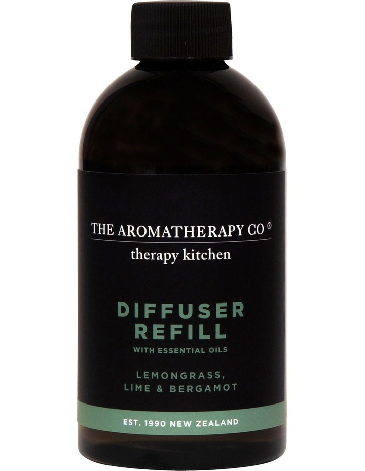 Therapy Kitchen Diffuser Refill Lemongrass Lime & Bergamot image 1