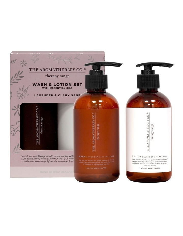 Therapy Wash & Lotion Set Relax image 1