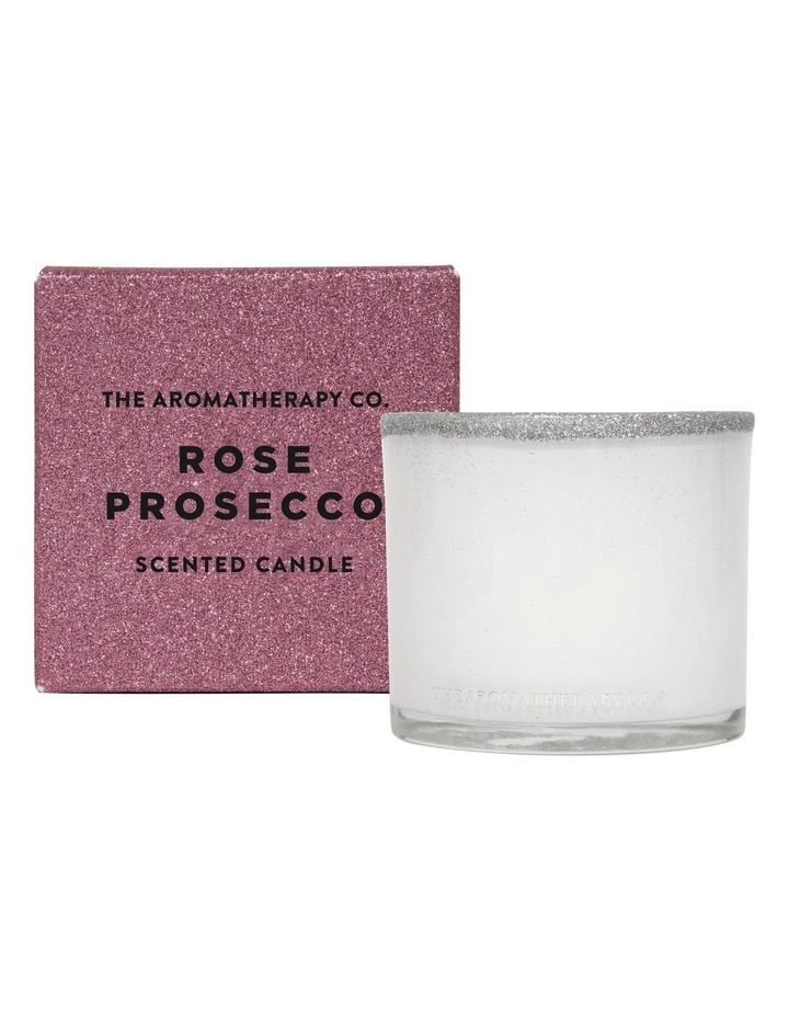 Festive Favours Candle Rose Prosecco image 1