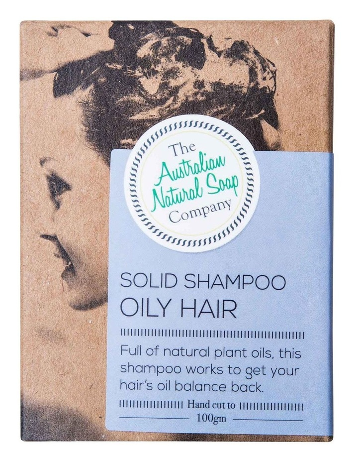 Solid Shampoo Oily Hair image 1