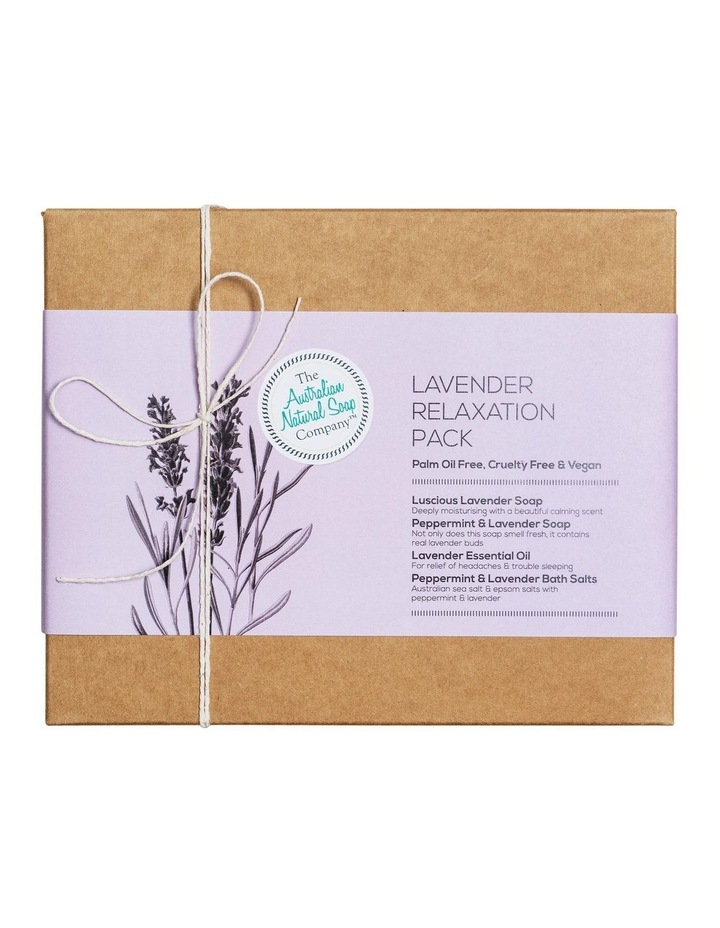 Lavender Relaxation Gift Pack image 1