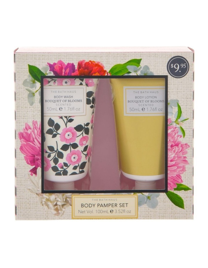 The Bath Haus Bouquet of Blooms Body Pamper Set image 1