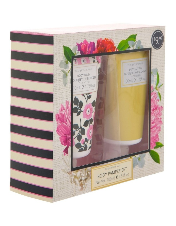 The Bath Haus Bouquet of Blooms Body Pamper Set image 2