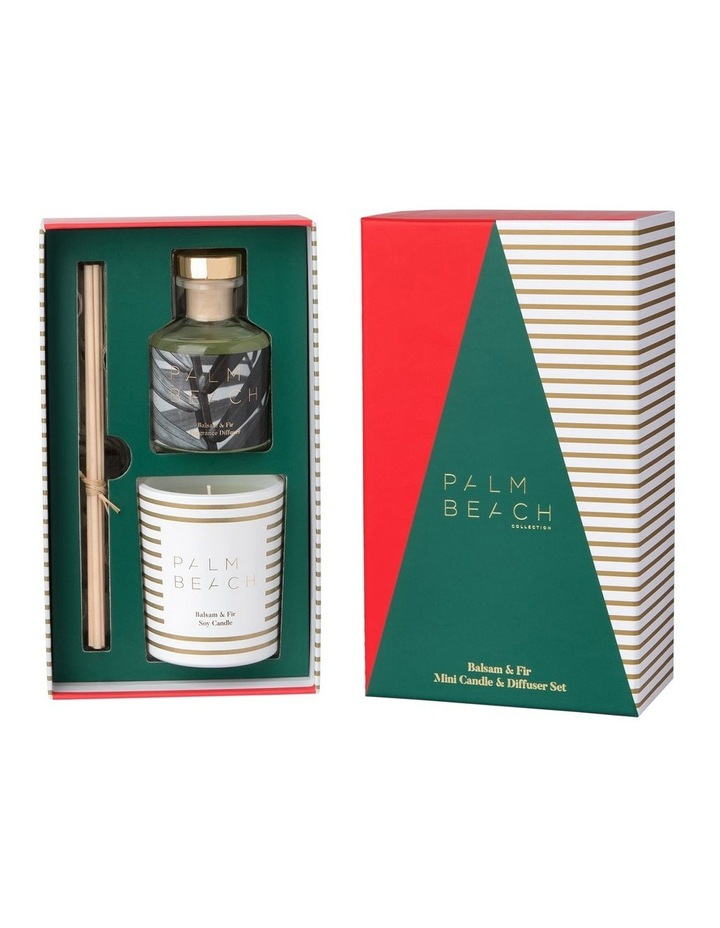 Balsam & Fir Mini Candle & Diffuser Gift Pack image 2