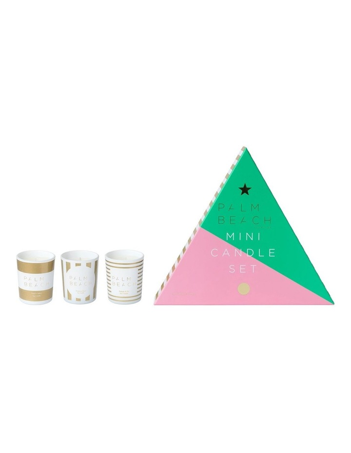3 x Mini Candle Xmas Gift Pack image 1