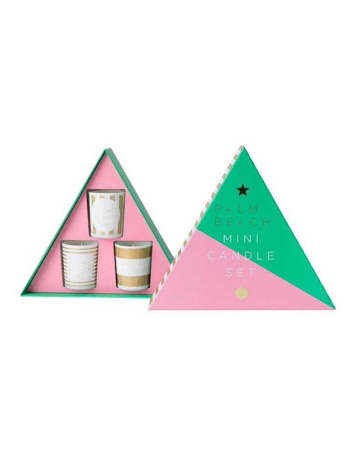 3 x Mini Candle Xmas Gift Pack image 2