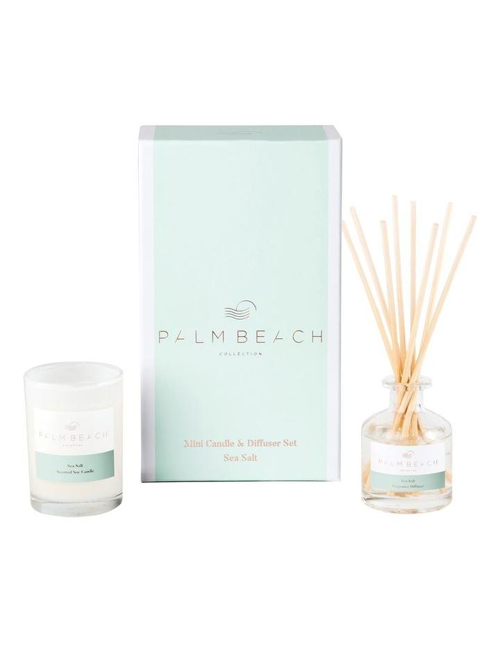 Sea Salt Mini Candle & Diffuser Gift Pack image 1