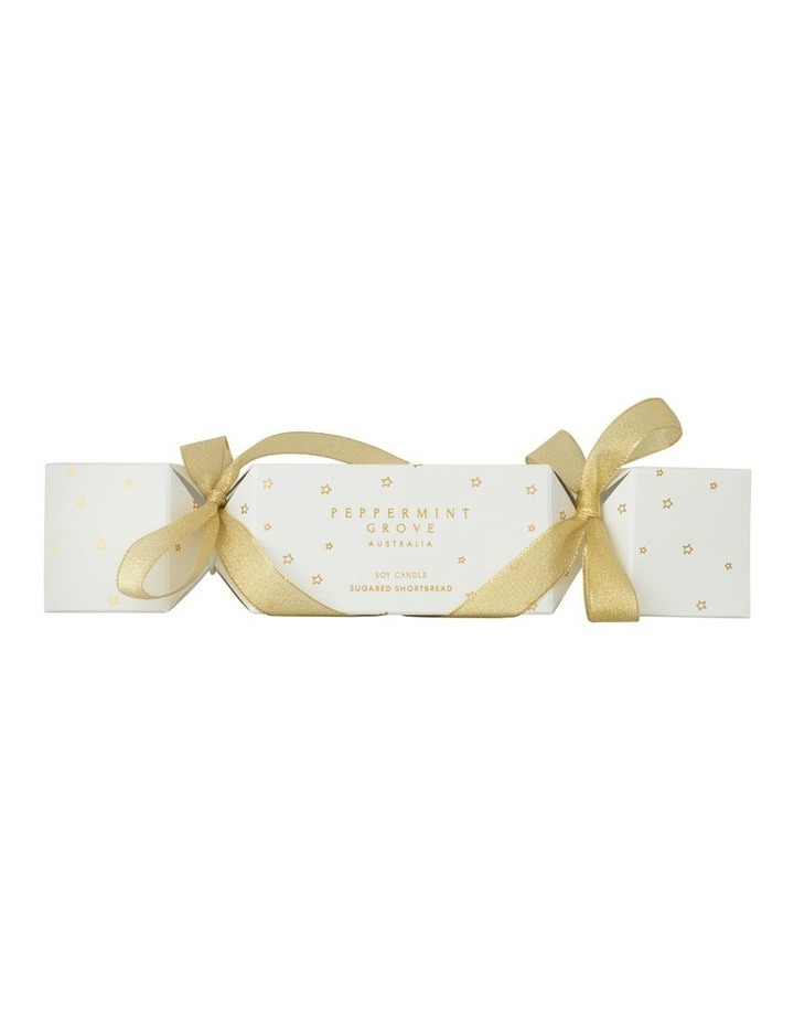Sugared Shortbread Christmas Cracker Candle 60g image 1
