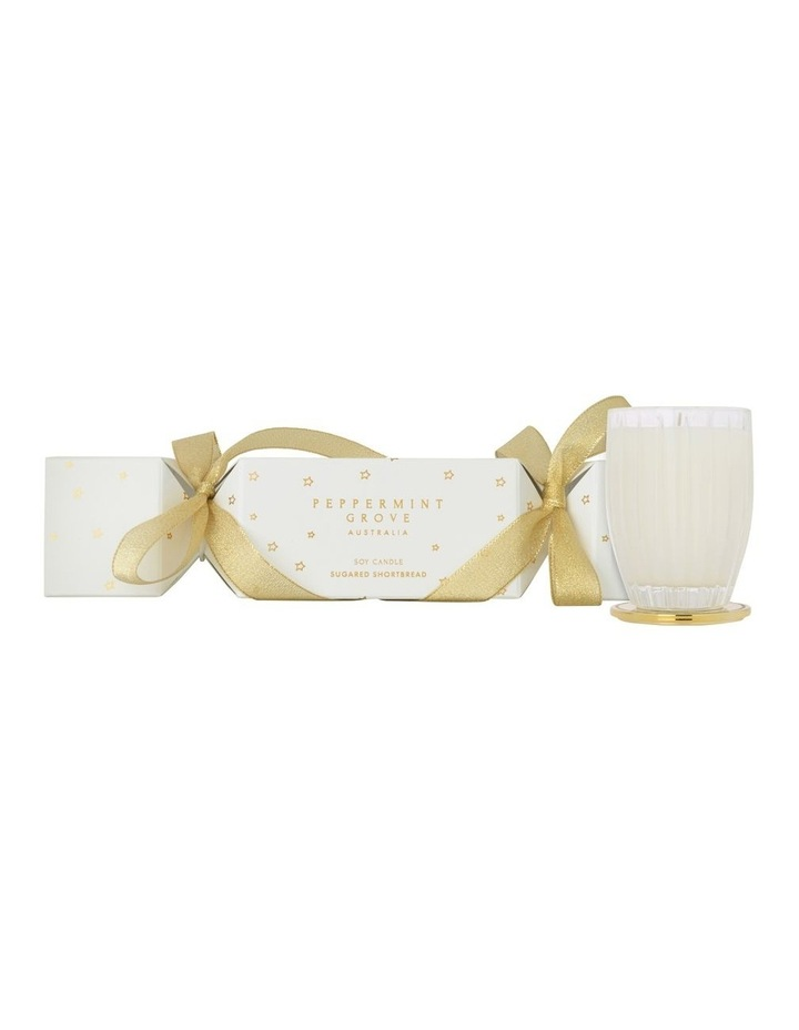 Sugared Shortbread Christmas Cracker Candle 60g image 3