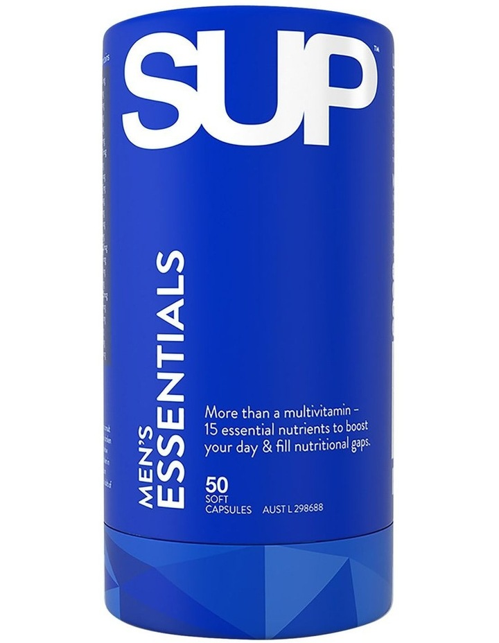 Men's Essentials 50 Soft Capsules image 1