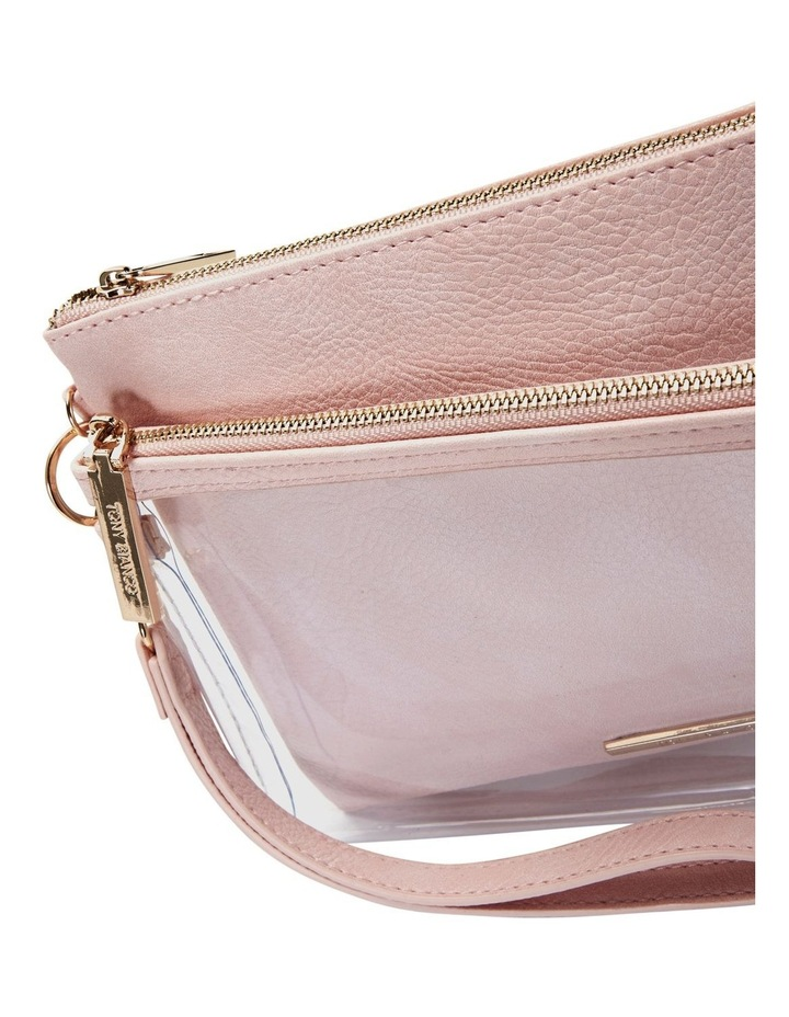 Duo Zip Pouch Set Pink image 3