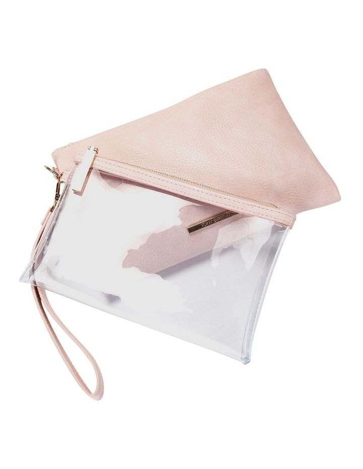 Duo Zip Pouch Set Pink image 4