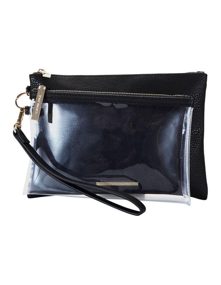 Duo Zip Pouch Set Black image 1