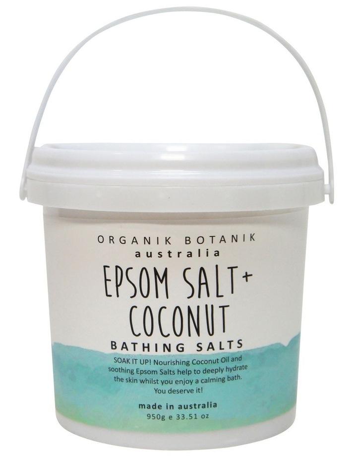 Splotch Epsom Salt & Coconut Bathing Salts Tub 950g image 1