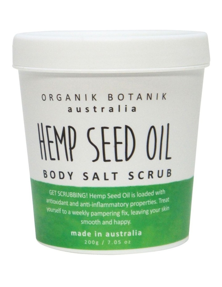 Splotch Tub Body Salt Scrub Hemp Seed Oil 200g image 1