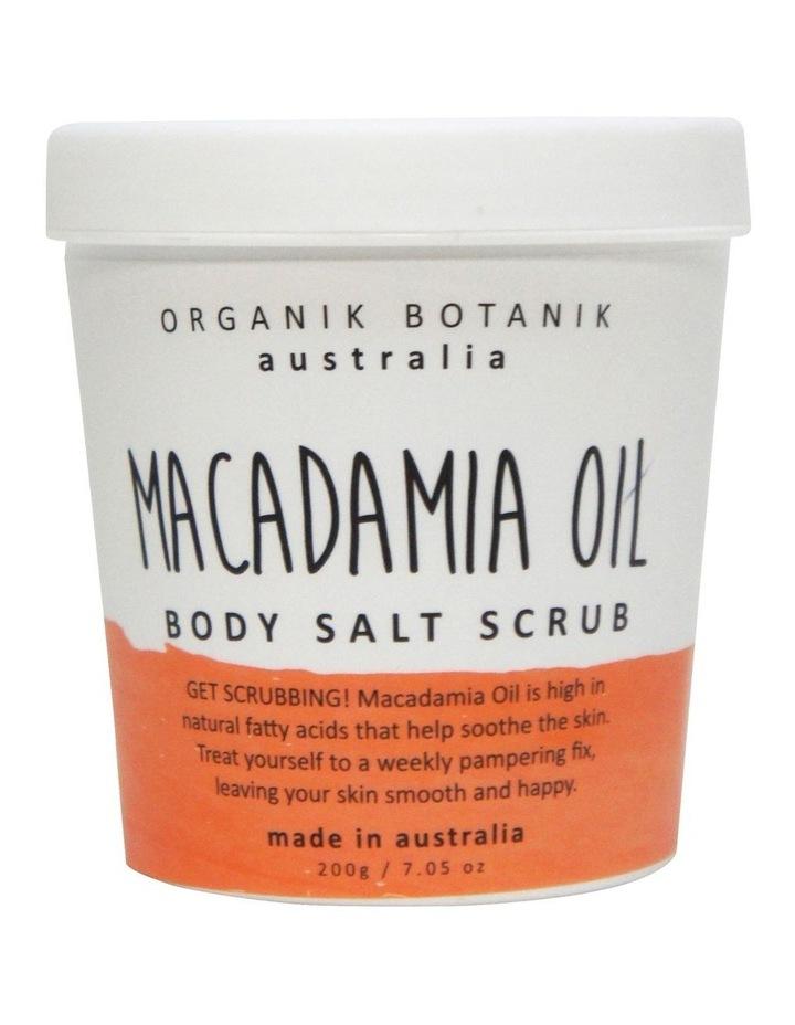 Splotch Tub Body Salt Scrub Macadamia Oil 200g image 1