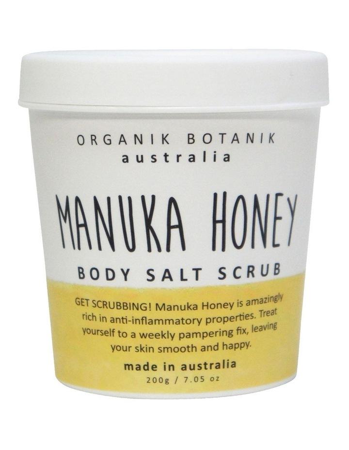 Splotch Tub Body Salt Scrub Manuka Honey 200g image 1