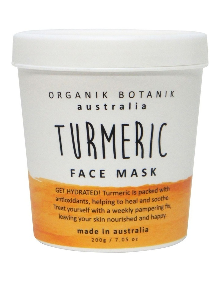 Splotch Tub Face Mask Tumeric 200g image 1