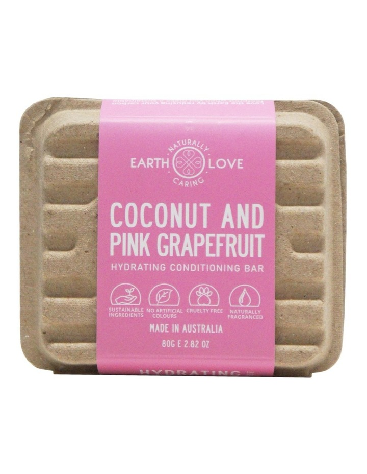 Earth Love 80g Hydrating Conditioning Bar - Coconut & Honey image 2