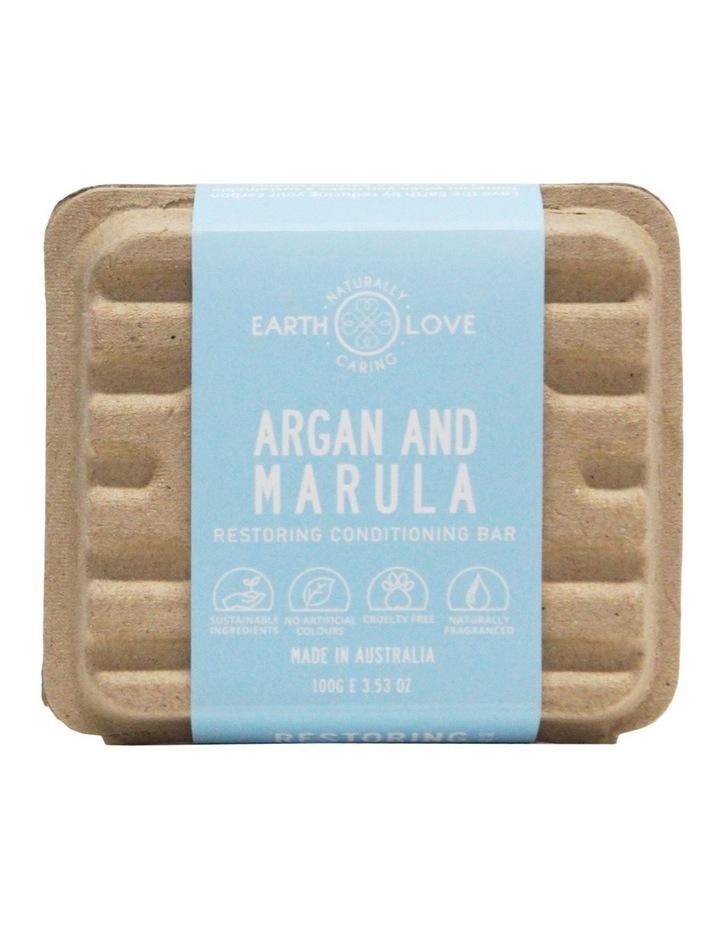 Earth Love 80g Restoring Conditioning Bar - Argan & Marula image 2