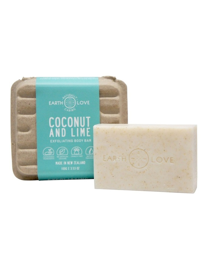 Earth Love 100g Body Scrub Bar - Coconut & Sea Salt image 1