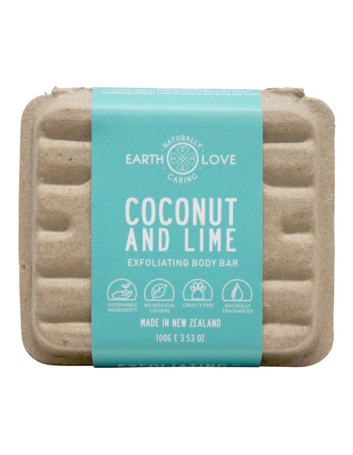 Earth Love 100g Body Scrub Bar - Coconut & Sea Salt image 2