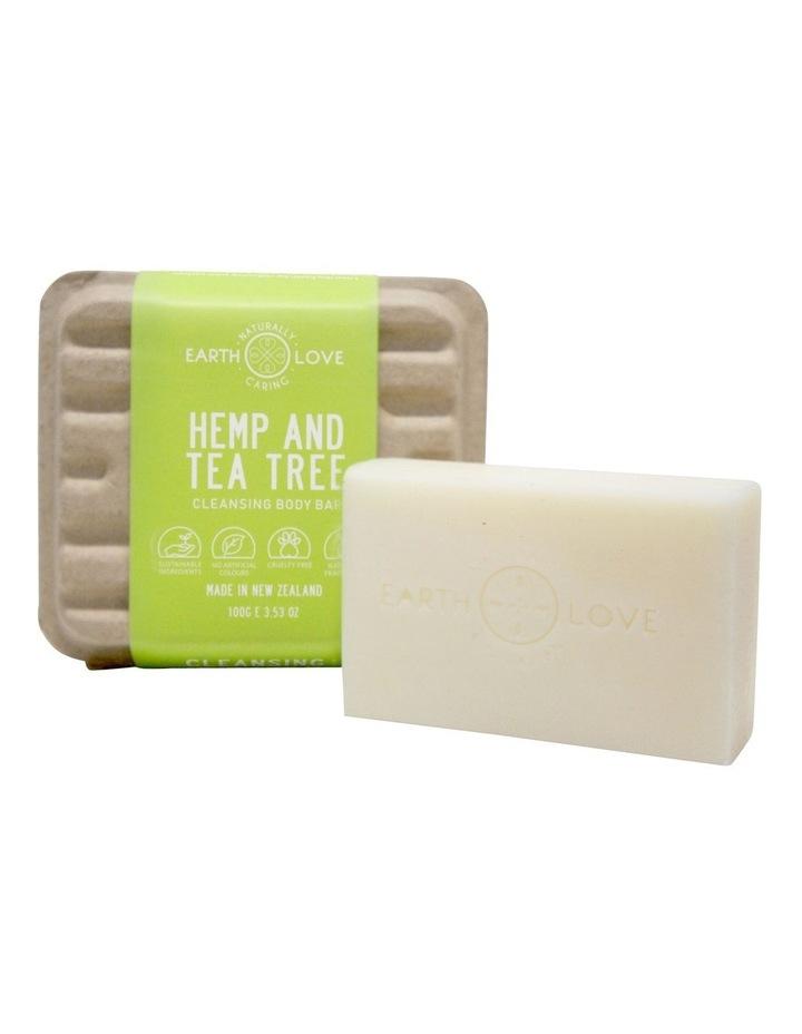 Earth Love 100g Body Wash Bar - Hemp & Tea Tree image 1