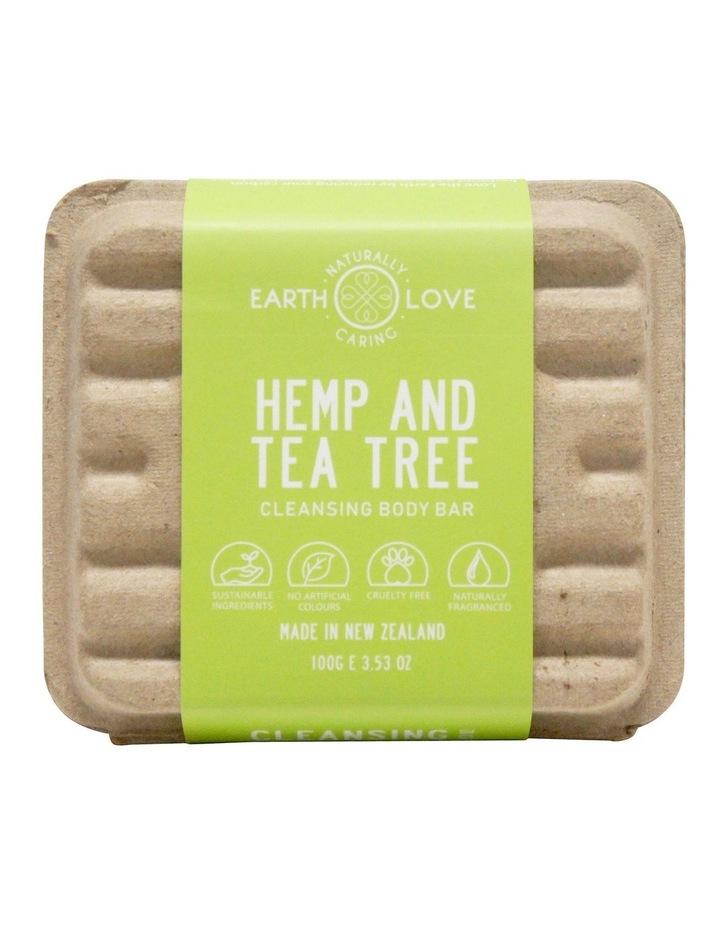Earth Love 100g Body Wash Bar - Hemp & Tea Tree image 2