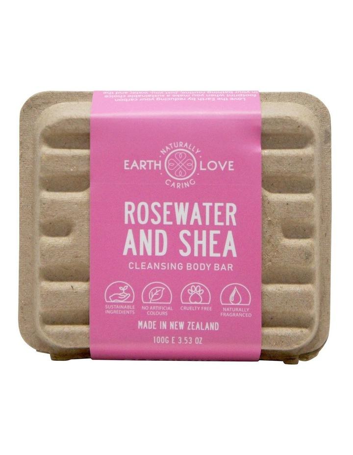 Earth Love 100g Body Wash Bar - Shea Butter & Rose Water image 2