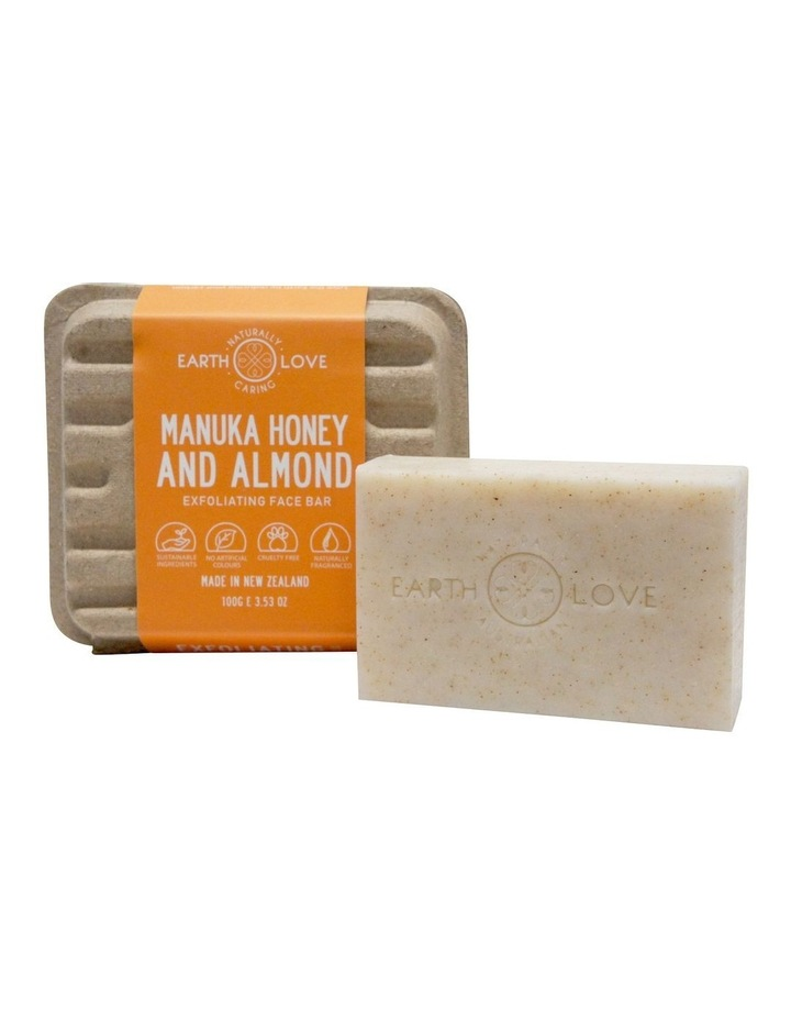 Earth Love 100g Facial Scrub Bar - Manuka Honey & Almond image 4