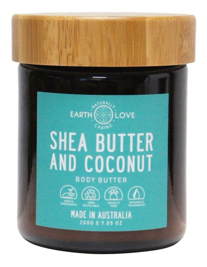 Earth Love 200g Body Butter - Shea Butter And Coconut image 1
