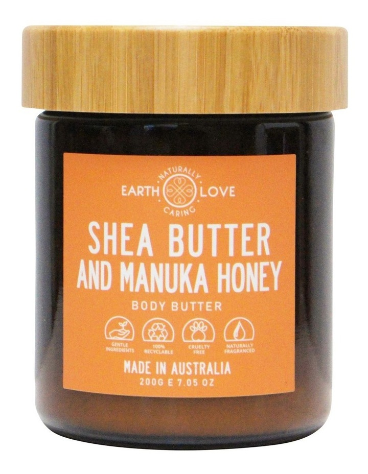 Earth Love 200g Body Butter - Shea Butter And Manuka image 1