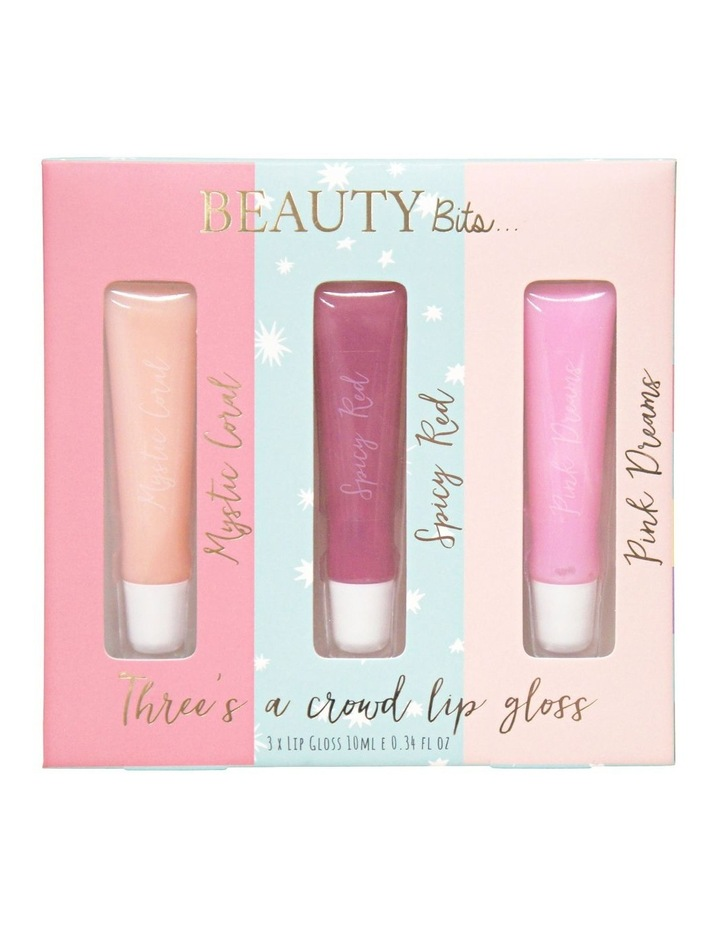 K Beauty Lip Gloss Trio - Mystic Coral+Spicy Red+Pink Dreams image 1