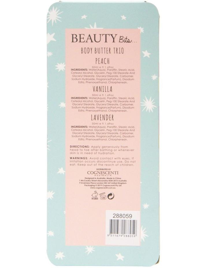 K Beauty Body Butter Trio - Peach+Vanilla+Lavender image 2