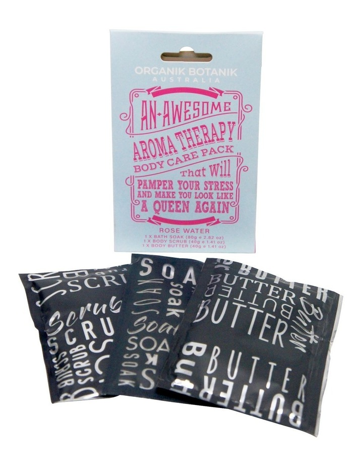 Book Cover Body Pamper Pack - Rose Water image 1