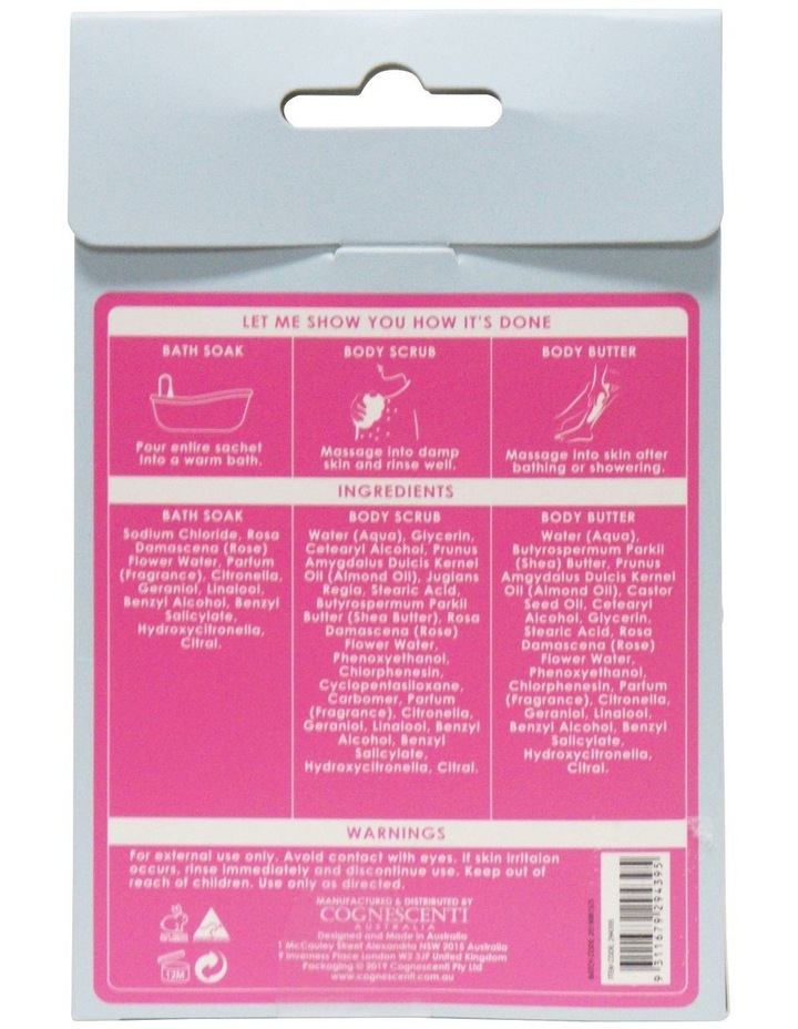 Book Cover Body Pamper Pack - Rose Water image 3