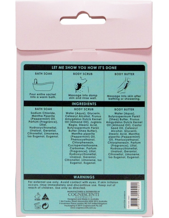 Book Cover Body Pamper Pack - Ocean Minerals & Mint image 3
