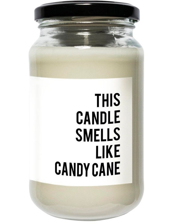 Regular Soy Candle Candy Cane image 1