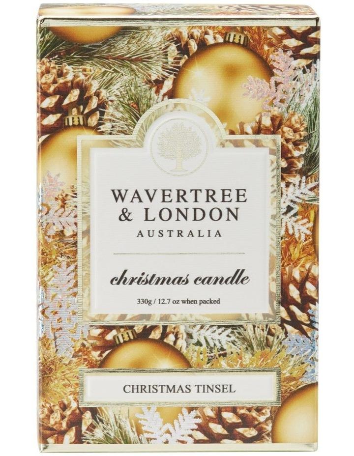 Christmas Tinsel Candle image 1
