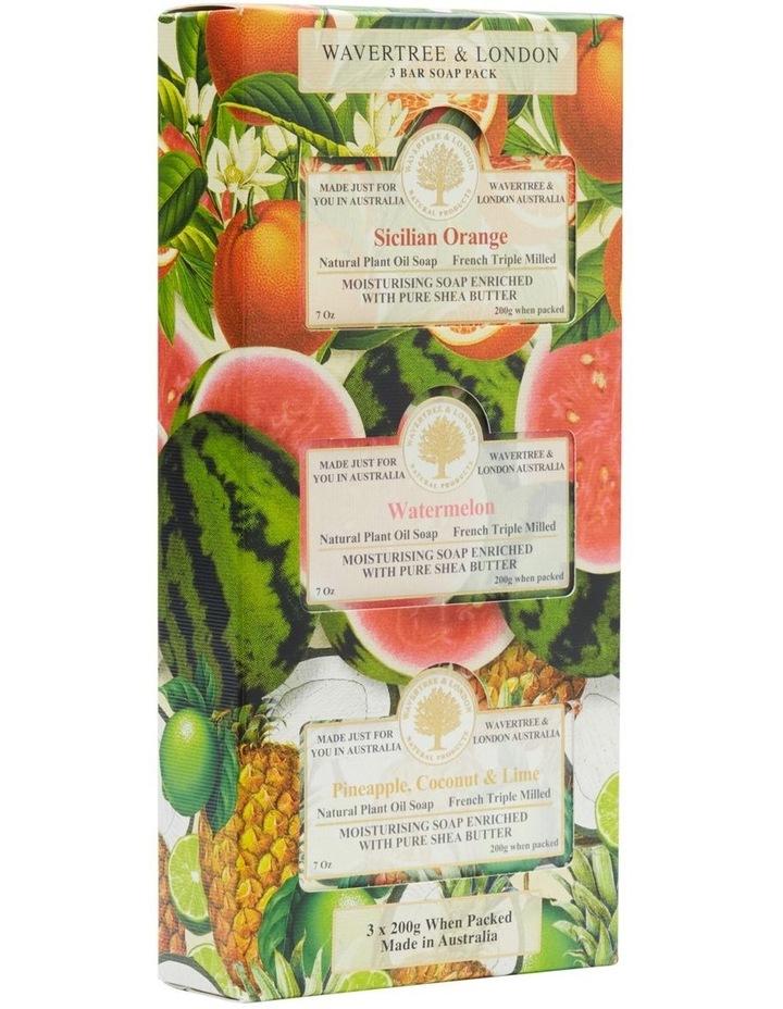 Fruit Soap Trio Pack image 2