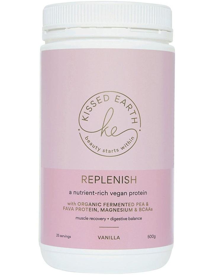 Replenish Vegan Protein Vanilla 500g image 1