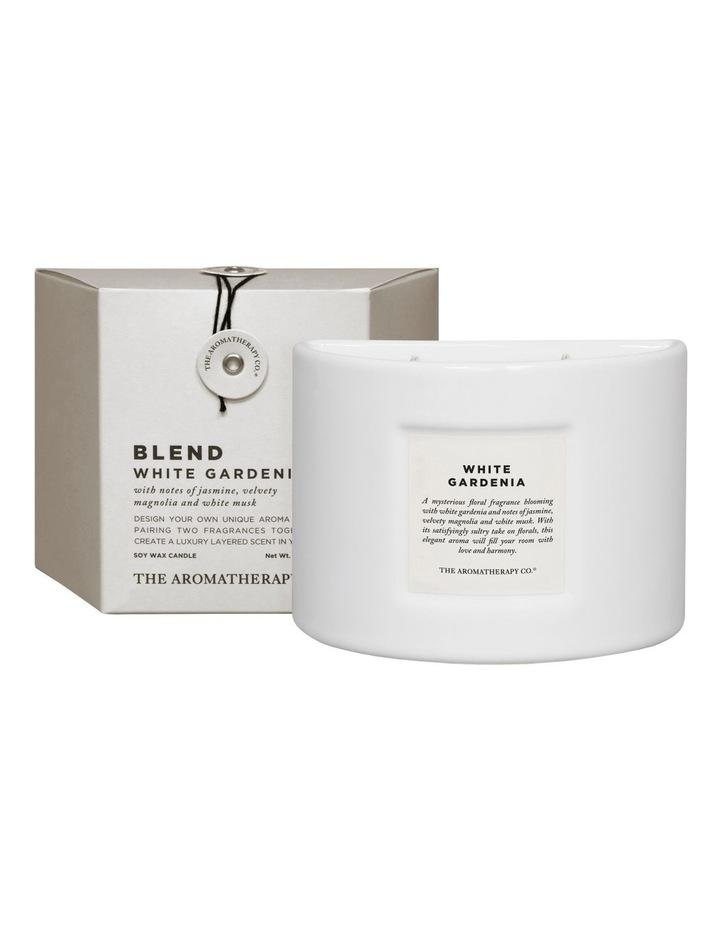 Blend Candle White Gardenia image 1