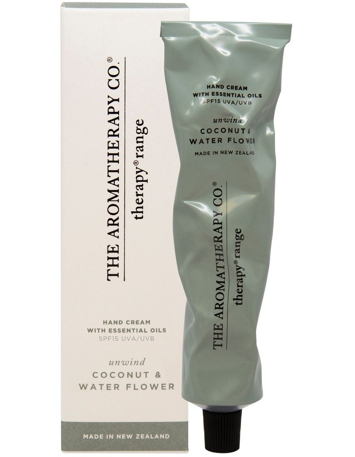 Therapy Hand Cream Unwind Coconut & Water Flower image 1