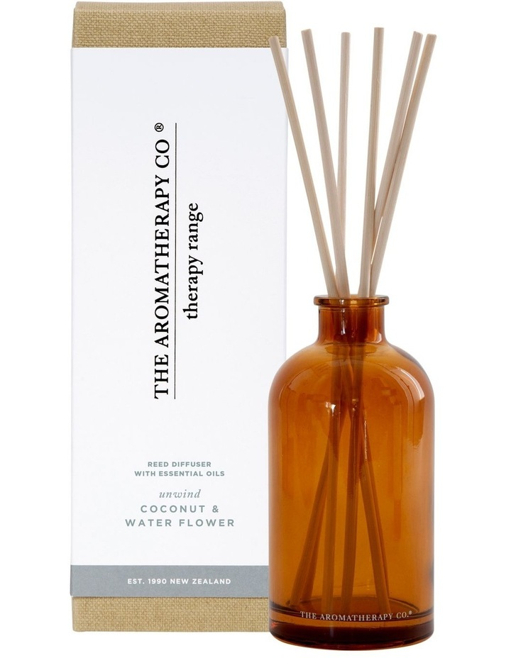 Therapy Diffuser Unwind Coconut & Water Flower image 1