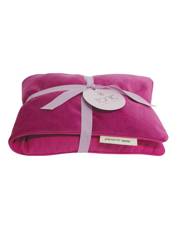 Luxe Velvet Heat Pillow Berry image 1
